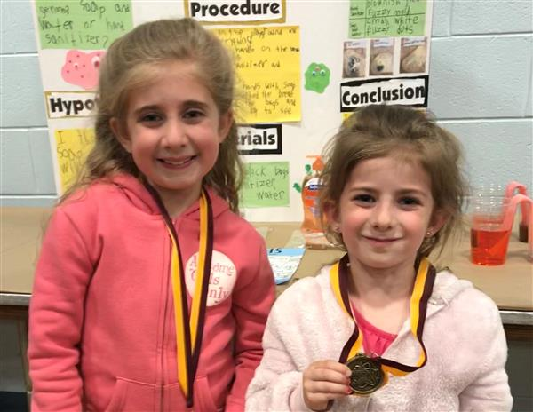 Students Shine at District Science Fair