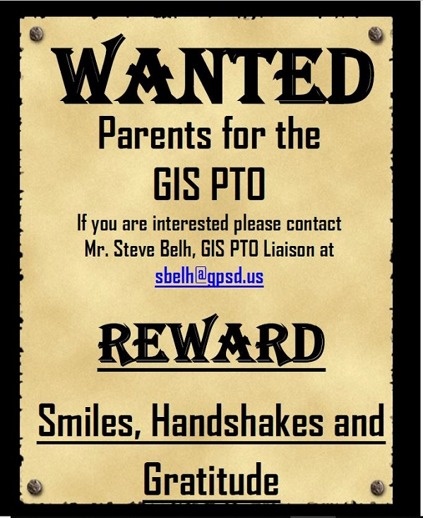 PTO Parents Wanted