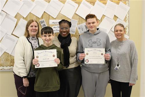 Glassboro Students Win Patriot's Pen Contest