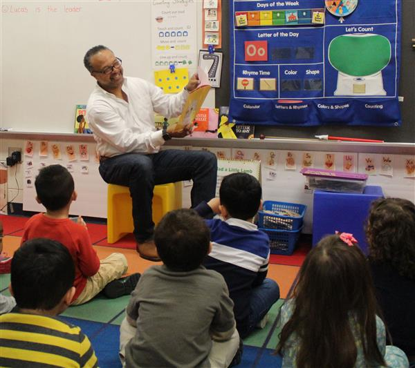 Pictures from Our African American Read In
