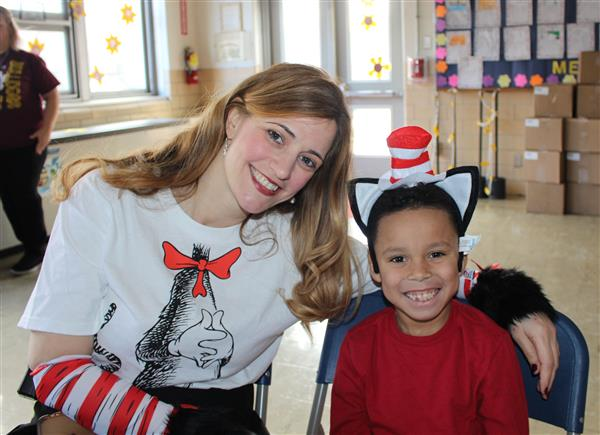 Read Across America Fun at Rodgers