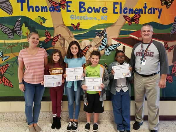 Bowe Bulldogs of Character - September 2019